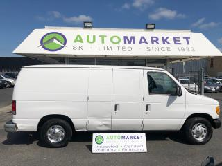 Used 2001 Ford Econoline E150 6CYL. CARGO! FREE 1 YR. BCAA! FREE WRNTY! FINANCE IT! YOU WORK/YOU DRIVE! for sale in Langley, BC