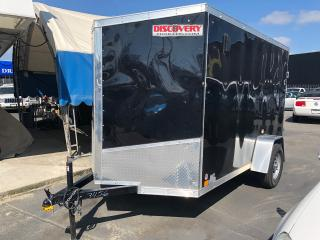 Used 2019 CARGO MATE 612 DISCOVERY V NOSE 10' TRAILER WITH MOTORCYCLE BRACKET! for sale in Langley, BC