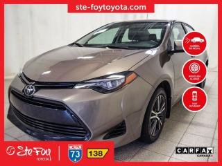 Used 2017 Toyota Corolla LE Toit ouvrant, Roue en alliage for sale in Québec, QC