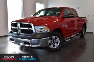 Used 2015 RAM 1500 CREW CAB SXT - TOW PACK + 3.92 for sale in St-Jean-Sur-Richelieu, QC