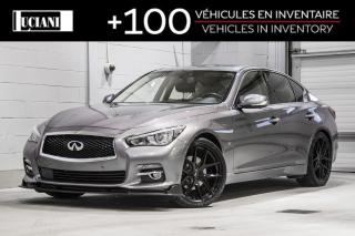Used 2015 Infiniti Q50 2015 Infiniti Q50 AWD!! LIMITED, GPS , BOSE !! for sale in Montréal, QC