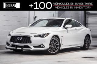 Used 2017 Infiniti Q60 2017 Infiniti Q60 - 2dr Cpe 3.0t Red Sport 400 for sale in Montréal, QC