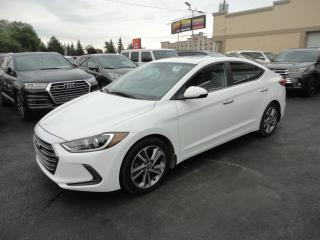 Used 2017 Hyundai Elantra Limited Cuir Toit Navi Camera for sale in Laval, QC