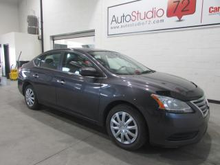 Used 2014 Nissan Sentra S **CVT**CRUISE**A/C**BLUETOOTH** for sale in Mirabel, QC