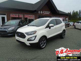 Used 2018 Ford EcoSport SES for sale in St-Prosper, QC