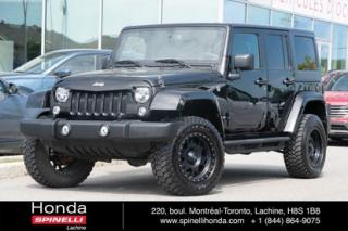 Used 2016 Jeep Wrangler Sport 75 ANNIVERSARY 2 TOITS + LIFT KIT TRES BAS KM LIFT KIT + 2 TOITS for sale in Lachine, QC