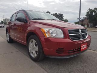 Used 2009 Dodge Caliber SXT -EXTRA CLEAN- 4 CYL - AUX - GAS SAVER - ALLOYS for sale in Scarborough, ON