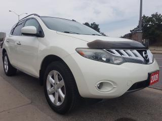 Used 2009 Nissan Murano SL-EXTRA CLEAN-AWD- SUN MOON ROOF-BK UP CAM-ALLOYS for sale in Scarborough, ON