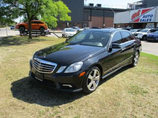 Used 2011 Mercedes-Benz E-Class E 550 ~ ALL OPTIONS ~ CAM. ~ NAV. ~ V8 for sale in Toronto, ON