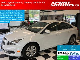 Used 2016 Chevrolet Cruze Limited LT+Camera+Remote Start+Bluetooth+AC+MyLink for sale in London, ON