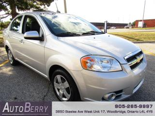 Used 2011 Chevrolet Aveo 1.6L - LT - FWD for sale in Woodbridge, ON