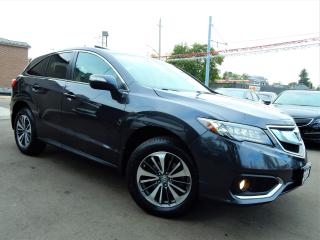 Used 2016 Acura RDX AWD Elite Pkg.Navi.Camera.Park Assist.Radar Cruise for sale in Kitchener, ON