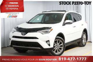 Used 2016 Toyota RAV4 Limited* CUIR* TOIT* NAV* for sale in Drummondville, QC