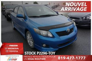 Used 2009 Toyota Corolla SPORT* TOIT* MAGS* for sale in Drummondville, QC
