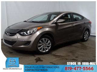 Used 2011 Hyundai Elantra GL|SIEGCHAUF|AIRCLIM|BLUETOOTH|GRÉLEC| for sale in Drummondville, QC