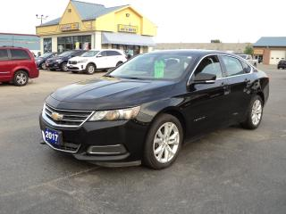 Used 2017 Chevrolet Impala LT 2.5L BackUpCam RemoteStart for sale in Brantford, ON