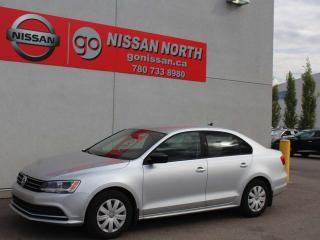 Used 2015 Volkswagen Jetta Sedan Trendline/ONE OWNER/LOW KMS for sale in Edmonton, AB