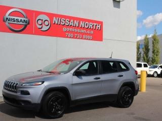 Used 2016 Jeep Cherokee Sport/4X4/ONE OWNER for sale in Edmonton, AB