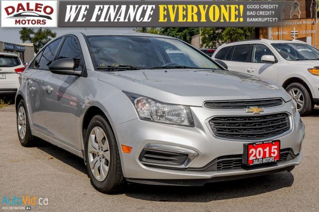 2015 Chevrolet Cruze 1LS | MANUAL | POWER LOCKS AND MIRRORS |