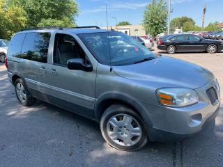 Used 2008 Pontiac Montana SV6/ SWB/ CAPTAIN SEATS/ POWER GROUP/ RUNS WELL! for sale in Scarborough, ON