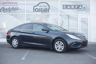 Used 2012 Hyundai Sonata GL ***RAPPORT CARPROOF DISPONIBLE*** for sale in Québec, QC