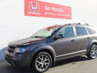 Used 2015 Dodge Journey R/T, AWD, 7-PASS, LEATHER, DVD for sale in Edmonton, AB