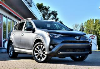 Used 2016 Toyota RAV4 LIMITED GPS, CUIR, MAGS, TOIT, JBL for sale in Pointe-Claire, QC