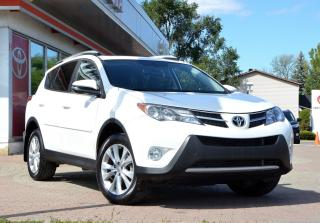 Used 2015 Toyota RAV4 LIMITED GPS, CUIR, MAGS, TOIT for sale in Pointe-Claire, QC