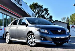 Used 2010 Toyota Corolla ***RÉSERVÉ ***SPORT TOIT, MAGS, BAS KM! for sale in Pointe-Claire, QC