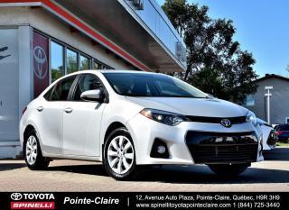 Used 2015 Toyota Corolla ***RÉSERVÉ***SPORT GROUPE ÉLECTRIQUE for sale in Pointe-Claire, QC