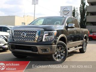 New 2019 Nissan Titan Platinum Reserve 4x4 Leather | 360 Camera, Heated Cooliing Seats for sale in Edmonton, AB