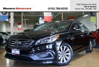 Used 2015 Hyundai Sonata SPORT - PANO|BLINDSPOT|BACKUP|ALLOYS for sale in North York, ON