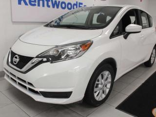 Used 2019 Nissan Versa Note Note SV FWD hatchback with heated seats and back up cam for sale in Edmonton, AB