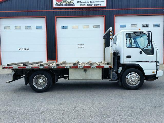 2007 GMC 5500 HD Cab Over Flatbed Reg. Cab Diesel