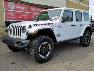 Used 2020 Jeep Wrangler Unlimited Rubicon / GPS Navigation / Back Up Camera for sale in Edmonton, AB