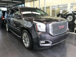 Used 2015 GMC Yukon XL DENALI 4WD, ACCIDENT FREE, POWER HEATED/VENTED LEATHER SEATS, DVD ENTERTAINMENT SYSTEM, NAVI for sale in Edmonton, AB