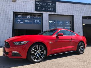 Used 2016 Ford Mustang GT Premium 435HP Remote Start Cooled Seats for sale in Guelph, ON