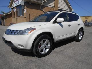 Used 2004 Nissan Murano SL AWD 3.5L V6 Loaded Sunroof Certified 217,000KMs for sale in Rexdale, ON