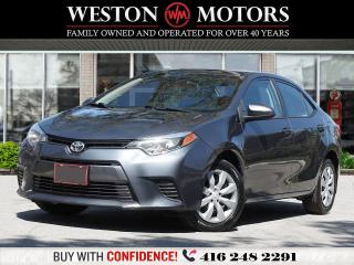 Used 2016 Toyota Corolla LE* REVERSE CAMERA* PRICED TO SELL! for sale in Toronto, ON