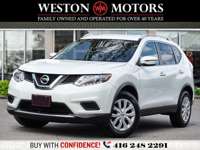 2016 Nissan Rogue S*REVERSE CAMERA*LOW KMS!