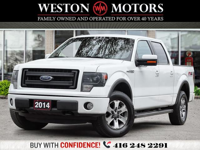 2014 Ford F-150 FX4*4X4*LEATHER*SUNROOF*REV CAM!!*