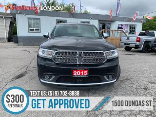 Used 2015 Dodge Durango for sale in London, ON