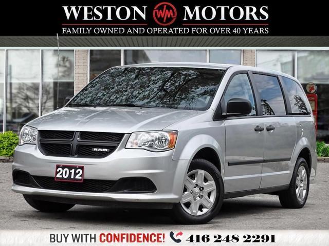 2012 Dodge Ram Van 6CYL*C/V*SHELVING*UNBELIEVABLE SHAPE!!*