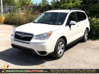 Used 2015 Subaru Forester AWD|ALLOYS|BLUETOOTH|CERTIFIED for sale in Oakville, ON