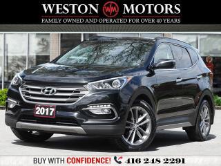 Used 2017 Hyundai Santa Fe Sport AWD* REVERSE CAMERA*PANORAMIC SUNROOF for sale in Toronto, ON