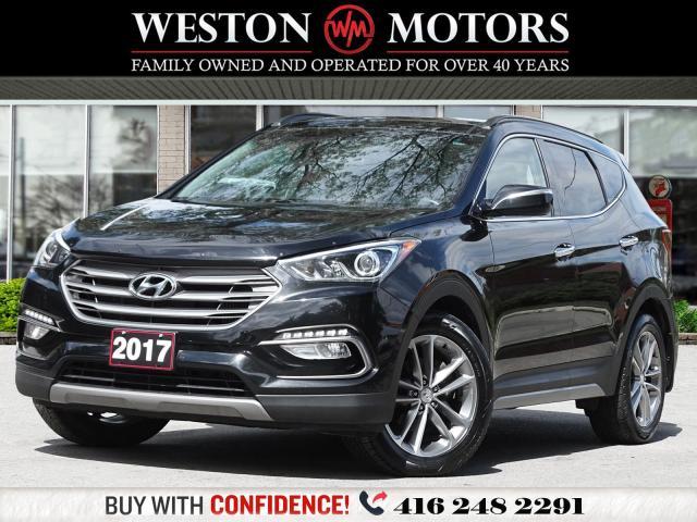 2017 Hyundai Santa Fe Sport 2.0T*AWD* REVERSE CAMERA*LEATHER*PANORAMIC SUNROOF