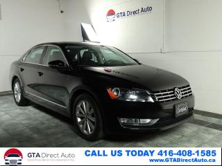 Used 2012 Volkswagen Passat TDI Highline DSG Nav Sunroof Leather Certified for sale in Toronto, ON