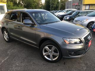 Used 2012 Audi Q5 2.0L Premium Plus/ LEATHER/ PWR SEATS/ ALLOYS! for sale in Scarborough, ON