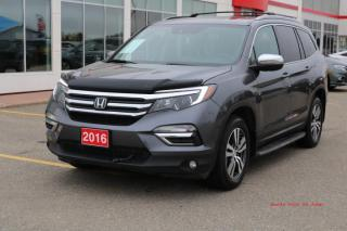 Used 2016 Honda Pilot PILOT EXLN for sale in Fort St John, BC