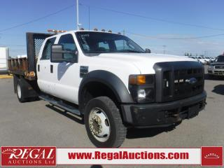 Used 2008 Ford F-550 Chassis AND CAB 2WD for sale in Calgary, AB
